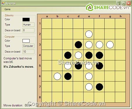 [C#] source code game cờ vây sử dụng trí tuệ nhân tạo